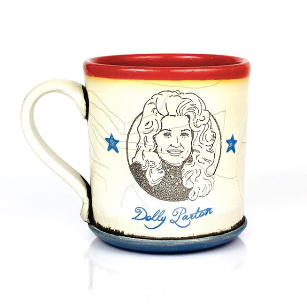 David Kring Dolly Parton Mug