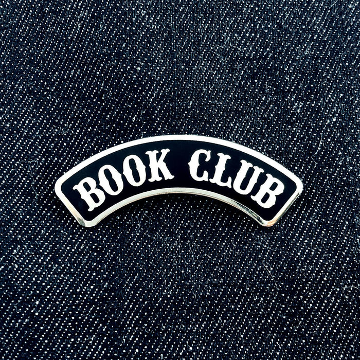 Miss Happy Pink Pin - Book Club Pin