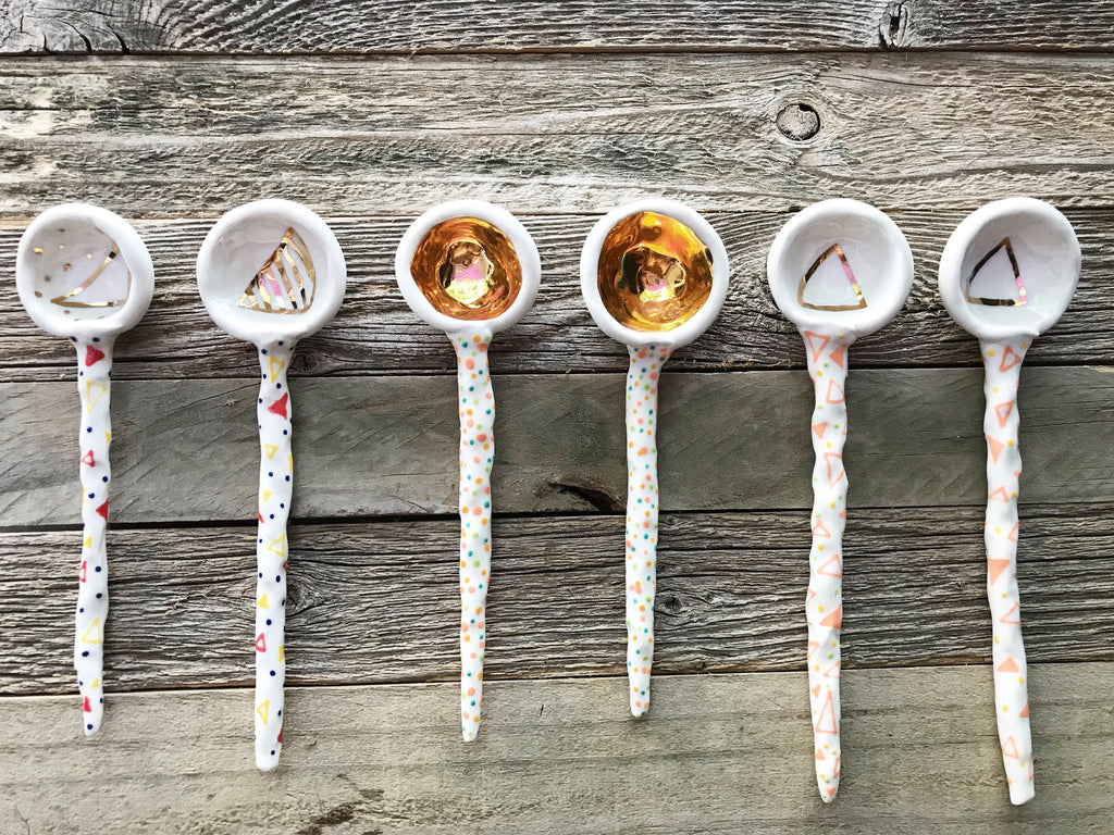Ashley Stewart - Pattern Coil Spoons
