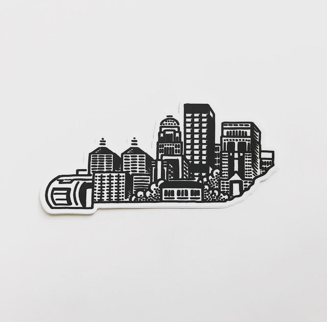 John Furse - KY/ Louisville Skyline Sticker