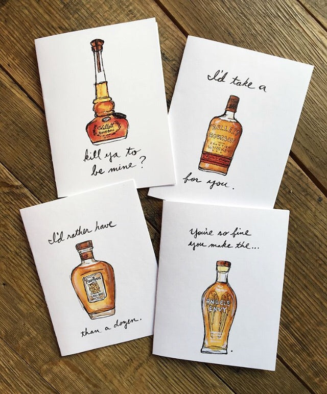 Bri Bowers- Kentucky Bourbon Pun Greeting Cards