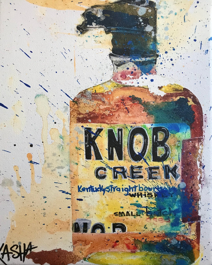 Kasha Giclee Canvases - Knob Creek
