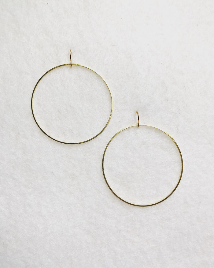 Finds - Gold Hoop Earrings