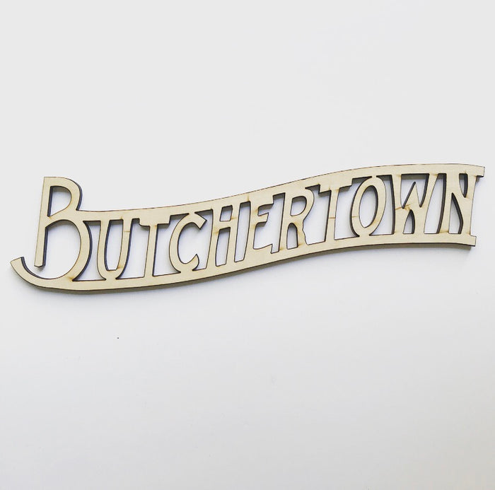 Southern Grit - Butchertown Wall Decor