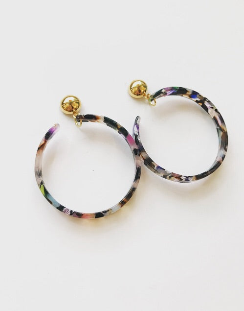 Finds - Acrylic Hoops
