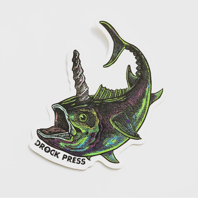 dRock Press - Sticker