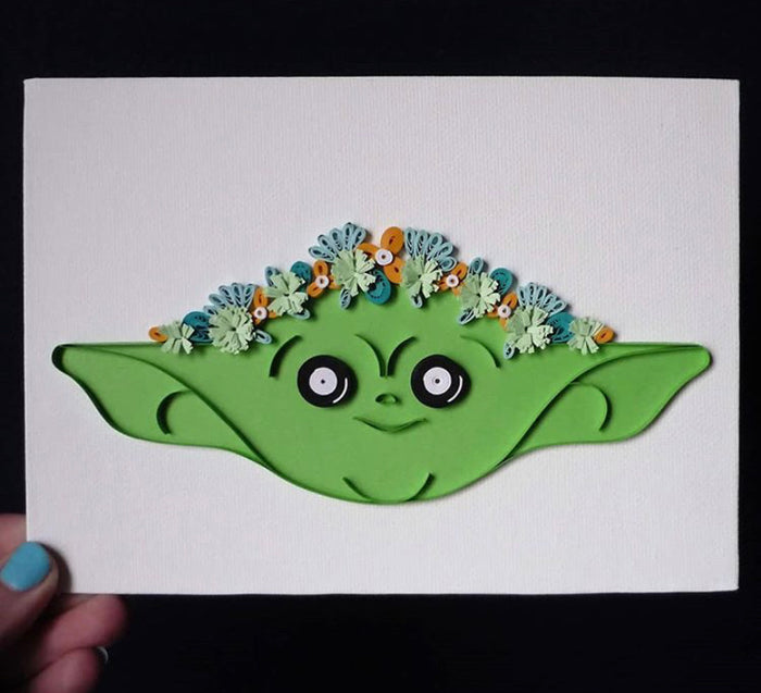 Jagged Little Quill - Baby Yoda