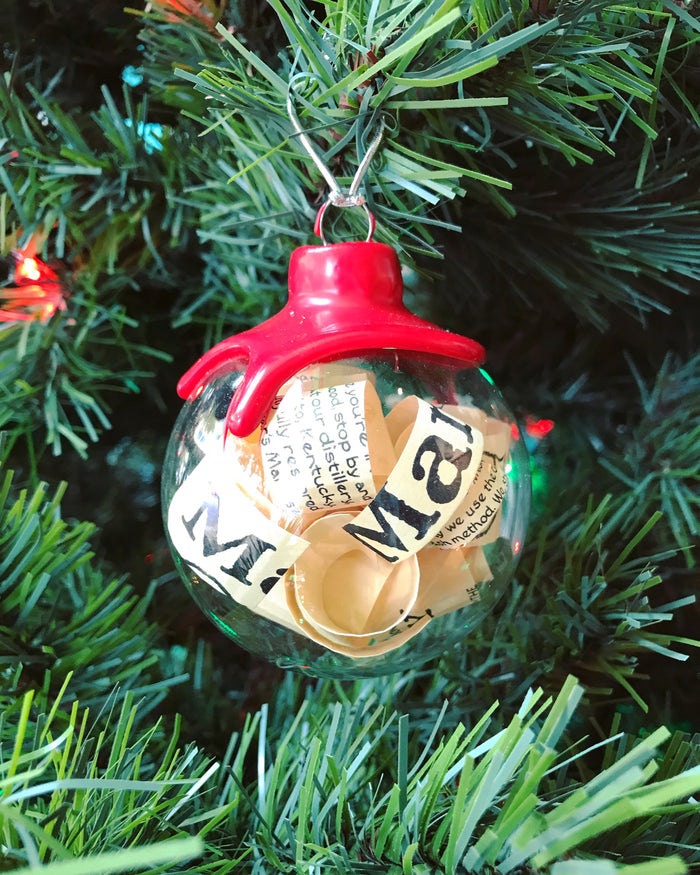 Melissa Sinkovic - Maker's Mark Ornament