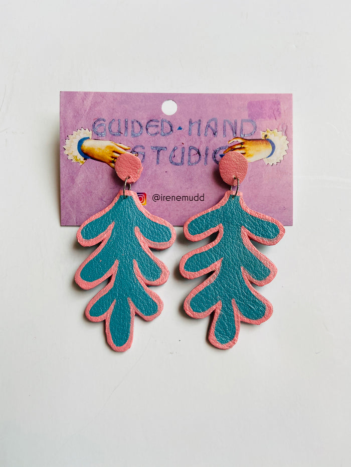 Guided Hand Studio - Fern Earrings