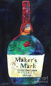Kasha Giclee Canvases - Maker's Mark