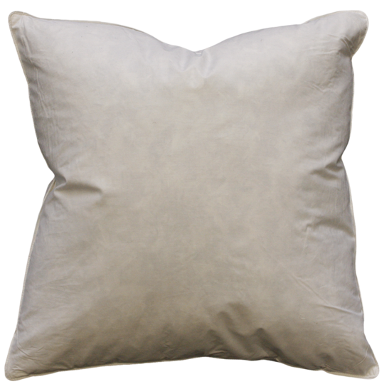 Feather Cushion Inner - 60cm x 60cm x 1190gm