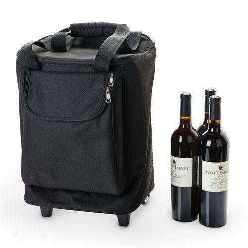 Journey: 6 Bottle Suitcase-Wine Boxes-Simply Stemless