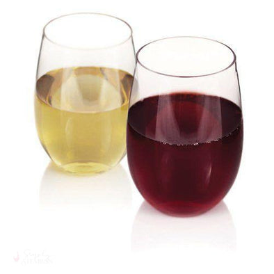 Flexi: Stemless Wine Glasses (Set of 2)-Drinkware-Simply Stemless