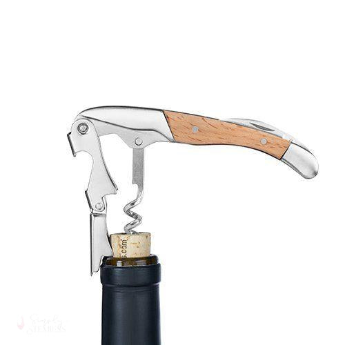 Birch Wood Double-Hinged Corkscrew-Simply Stemless