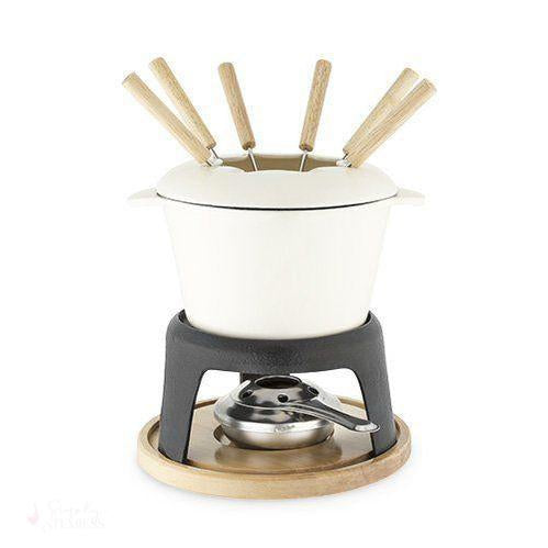 CAST IRON FONDUE SET BY TWINE®-Tabletop-Simply Stemless