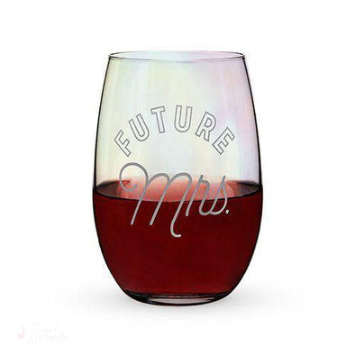 Future Mrs. Stemless Glass-Drinkware-Simply Stemless