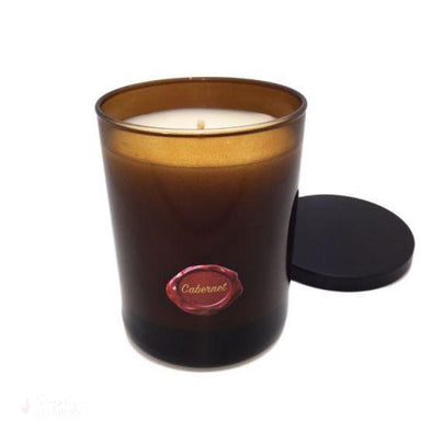 Napa Soap Soy Candle - Cabernet-Candles-Simply Stemless