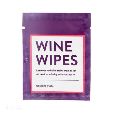Wine Wipes Singles-Personal-Simply Stemless