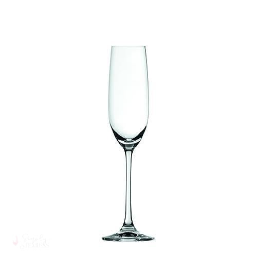 Spiegelau Salute 7.4 oz Champagne Flute (Set of 4)-Drinkware-Simply Stemless