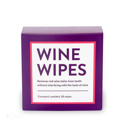 Wine Wipes Compact, Anniversary Edition (20 per pack)-Personal-Simply Stemless