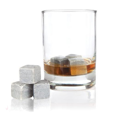 Glacier Rocks 6 Piece Soapstone Cube Set-Temperature Regulating-Simply Stemless