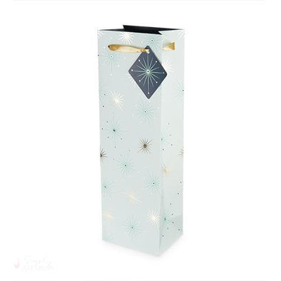 Starlight Single-Bottle Wine Bag-Paper Wine Bags-Simply Stemless