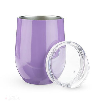 Sip & Go Stemless Wine Tumbler - Lilac-Drinkware-Simply Stemless