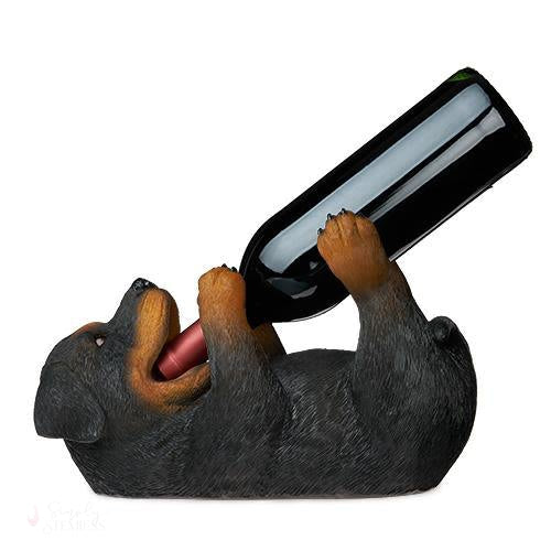 Rottweiler Wine Bottle Holder-Bottle Holders-Simply Stemless