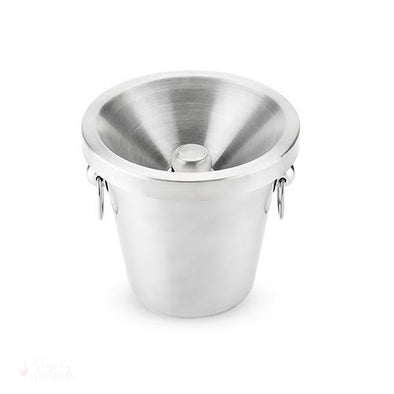 Savor Stainless Steel Spittoon-Spitoons-Simply Stemless