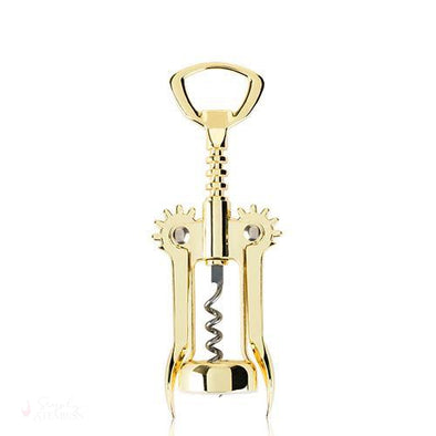 Gold Winged Corkscrew-Corkscrews-Simply Stemless
