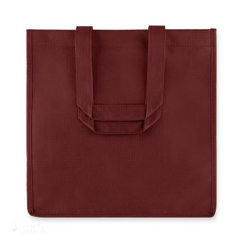 6-Bottle Non-Woven Tote - Red-Wine Totes-Simply Stemless