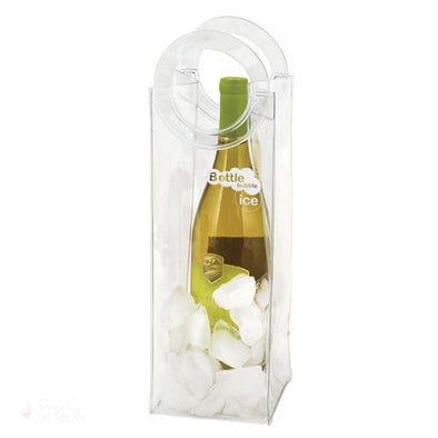 Bottle Bubble Ice: Wine Tote-Temperature Regulating-Simply Stemless