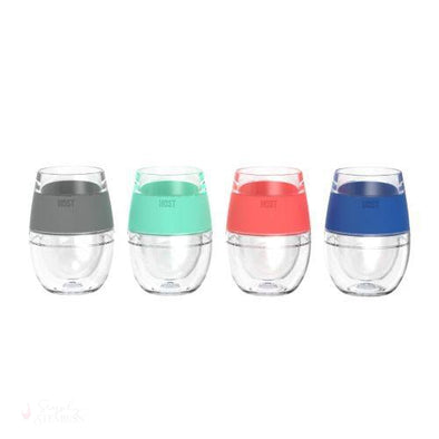 Wine FREEZE Cooling Cups (Set of 4)-Temperature Regulating-Simply Stemless