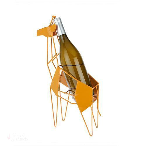 Giraffe Wine Bottle Holder-Bottle Holders-Simply Stemless