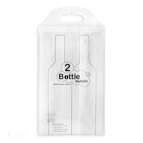The Bottle Bubble Protector for Two Bottles-Bottle Bubble Bags-Simply Stemless