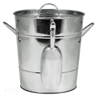 Galvanized Metal Ice Bucket-Temperature Regulating-Simply Stemless