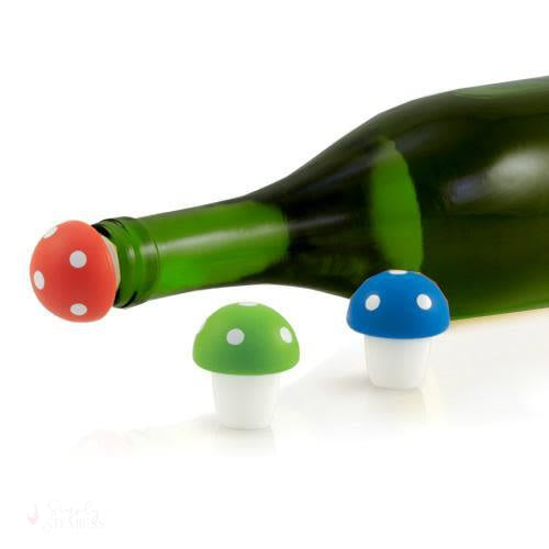 Toadstool Bottle Stoppers-Preservation-Simply Stemless