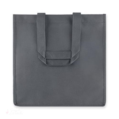 6 Bottle Grey Non Woven Tote-Wine Totes-Simply Stemless