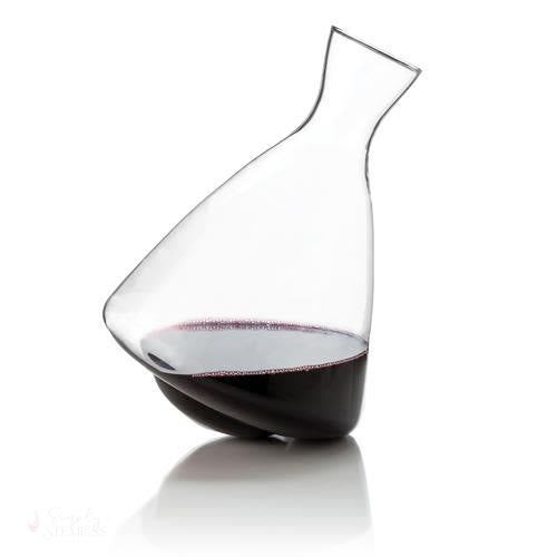 Rolling Crystal Wine Decanter-Decanter-Simply Stemless