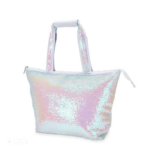 Mermaid Sequin Cooler Tote-Temperature Regulating-Simply Stemless