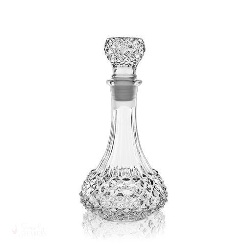 Studded Glass Decanter-Decanter-Simply Stemless