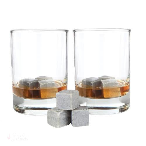 Glacier Rocks Set of 9 Soapstone Cubes-Temperature Regulating-Simply Stemless