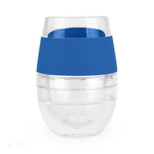 Wine FREEZE Cooling Cup - Blue-Temperature Regulating-Simply Stemless
