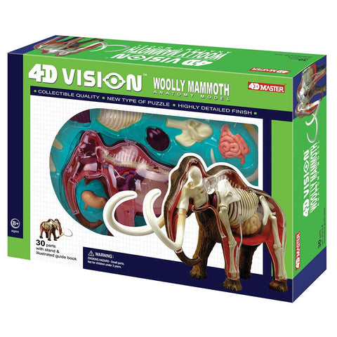 4D Vision Mammoth Anatomy Puzzle