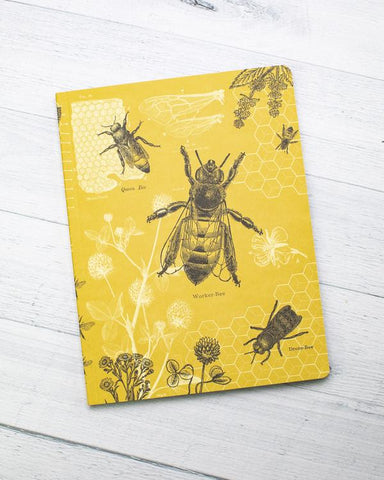 Bees Softcover Journal
