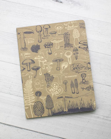 Mushrooms Softcover Journal