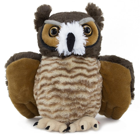 Great Horned Owl Cuddlekins Plush