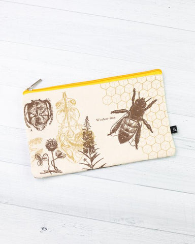 Bees Zip Pouch