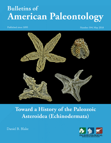 394 Toward a History of the Paleozoic Asteroidea (Echinodermata)