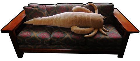 Giant Eurypterid Body Pillow